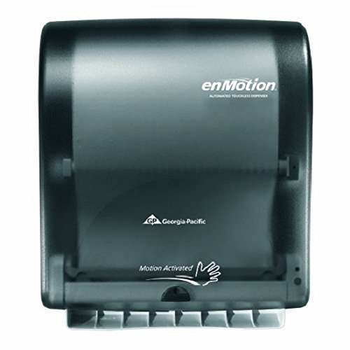 Georgia Pacific Enmotion 59462 Classic Automated Touchless Paper Towel Dispenser, Translucent Smoke