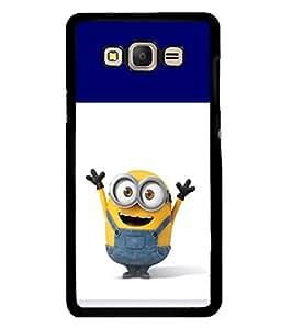 printtech Minions Back Case Cover for Samsung Galaxy E7::Samsung Galaxy E7 E700F