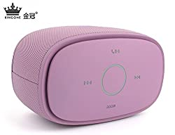 KINGONE ***Limited Edition**** K5 Bluetooth Speaker with TF MP3 Player and Handsfree Surround Sound & Super Bass Light Purple