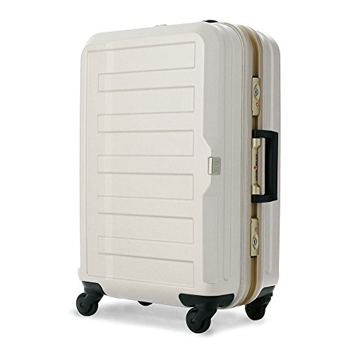 LEGEND WALKER スーツケース キャリーケース 4輪 TSAロック ポリカーボネート シボ加工 高品質 85L ts-5088-68 (アイボリー)