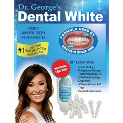 """Dr. George's Dental White """"Whitening for Two"""""""
