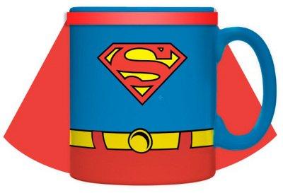 DC Comics Superman Oversized 20oz Coffee Mug with Cape