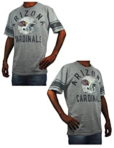 Mens NFL Arizona Cardinals Athletic Short Sleeve T-Shirt (Vintage Look) by NFL