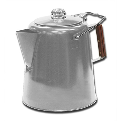 Stansport Stainless Steel Percolater 28-Cup Coffee Pot