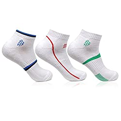 Bonjour Mens Cotton White Secret Length 3 Pairs Sports Socks_BRO7002S-PO3