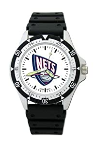 NBA New Jersey Nets Option Sport Watch by Logo Art