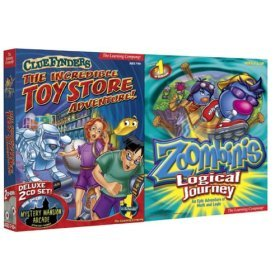 ClueFinders Toy Store and Zoombinis Logical Journey