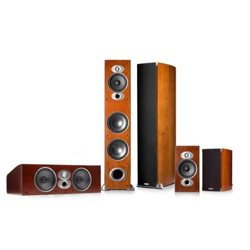 Polk Audio Rti A7 5.0 Home Theater Speaker Package (Cherry)