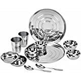 Kitchen Pro Stainless Steel Dinner Set Of 12 Pcs