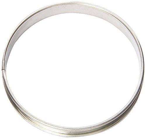 Matfer Bourgeat 371660 Tart Ring, Silver by Matfer Bourgeat
