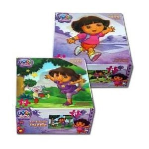 Dora the Explorer 24 Piece Lenticular Puzzle (14459),Styles Vary - 1