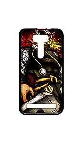 Thor Painting Designer Mobile Case/Cover For Zenfone 2 2D black