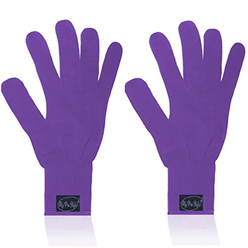 Professional Heat Resistant Gloves For Curling and Flatting Iron