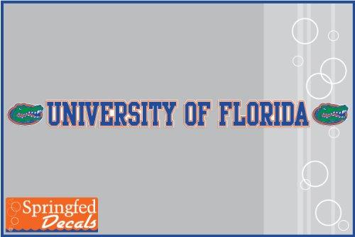 Florida Gators University Of Florida Strip Vinyl Decal #1 Uf Car Truck Window Sticker