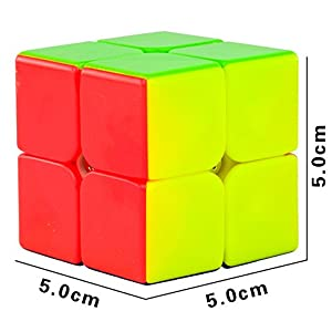 Ting-w Set 4 Magic Cube Puzzle & Rubik's Cube toys (2x2,3X3,4X4,5X5)