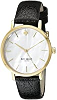 kate spade watches Classic Gold Metro with black strap