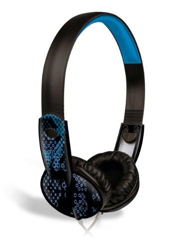 Maxell Safe Soundz Overear Headphones Ages 10-12 (Black)