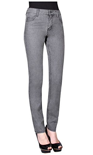 Jeans Tight Grigio CHEAP MONDAY 28 34 Donna