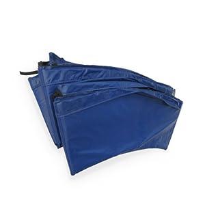 Alice's Garden - Coussin de protection ressorts trampoline 430cm - 24mm - Bleu