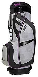 OGIO Duchess Cart Bag, White/Charcoal