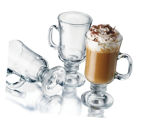 Libbey 8-1/2-Ounce Irish Coffee Mug, 4-Piece Set (Irish Coffee Set compare prices)