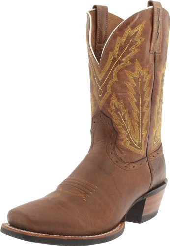 Ariat Men's Adriano Moraes Bull Rider Boot,Dapples Brown/Quartz,11 M US