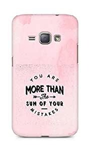 AMEZ you are more than the sum of your mistakes Back Cover For Samsung Galaxy J1 (2016 EDITION)