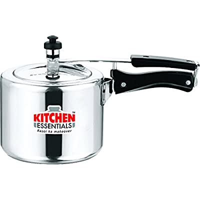 Kitchen Essentials Induction Base Pressure Cooker 8 Litre