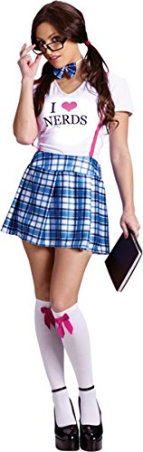 Morris Costumes I Love Nerds Adult Sd 2-8