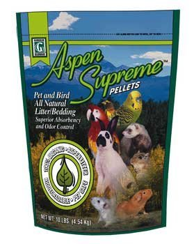 Cheap Green Pet Aspen Supreme Pellets Pet and Bird All Natural Litter/Bedding (B000634C6Y)