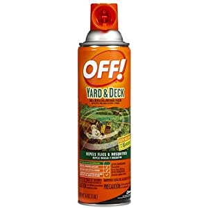 off yard deck area insect repellent outdoor fogger 16