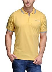 AWG All Weather Gear Men's Cotton T-Shirt (Yellow, XXXX-Large)
