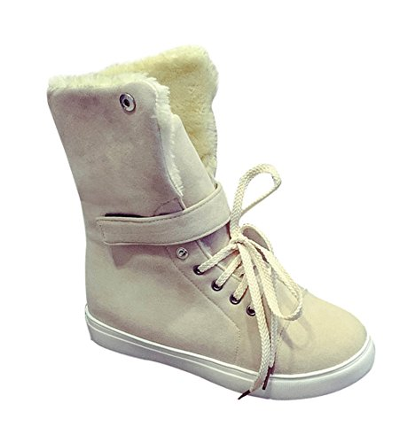 christmas-tmates-womens-warm-comfort-flat-fur-lined-lace-up-adjustable-cuff-winter-snow-boots-75-bmu