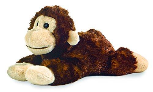 "Cheki Chimp Mini Flopsie 8"" by Aurora"