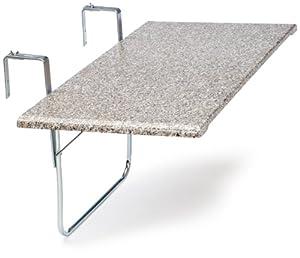 Videx terrazo 16402 tavolino pieghevole da balcone for Tavolino per balcone