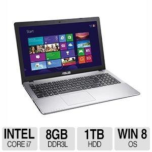 """Asus X550La-Ri7T27 15.6"""" Touchscreen Laptop"""