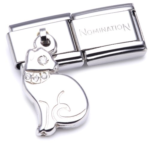 Nomination Composable Women's Bead Classic Charms 925 Silver Cat