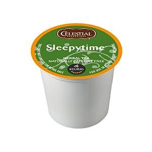 Celestial Seasonings Sleepytime Herbal Tea, K-Cup Portion Pack for Keurig K-Cup Brewers, 24-Count