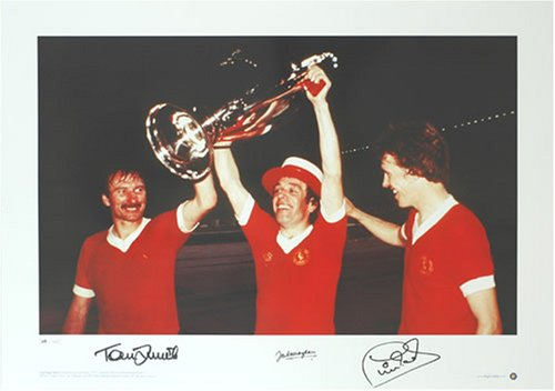 European Cup Final, Rome 1977 – Limited Ed signed by 3