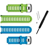 Garmin 910XT Blue & Green Band Kit