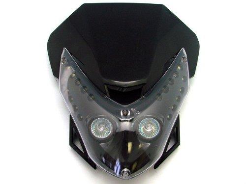 TMS @THLSF-HY012-K Headlight Fairing (Street Fighter Kawasaki Ex 250 500 Ninja Ex500 Yamaha FZR Fazor Fz6 Fz1 YZF R1 R6 Honda CBR F2 F3 F4i F4 Dirt Bike Xr Crf) (Honda Cbr F3 compare prices)