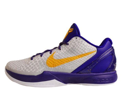 promo code 8f93f b8fcc Nike Zoom Kobe VI X 6 White Purple Del Sol Concord Basketball Shoes  436311-102