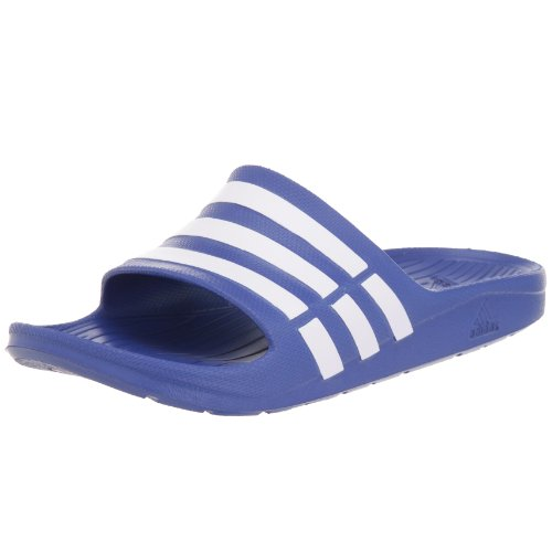 Adidas Performance Mens Duramo Slide Running Shoes G14309 True Blue/White/True Blue 8 UK, 42 EU