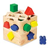 Melissa & Doug Shape Sorting Cube