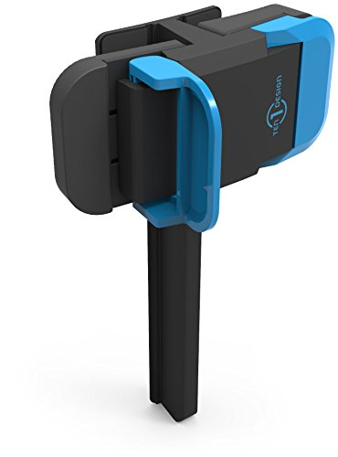 Ten One Design Mountie Side-Mount Clip for Mobile Devices (T1-MULT-109) - Blue (Ipad Clip compare prices)