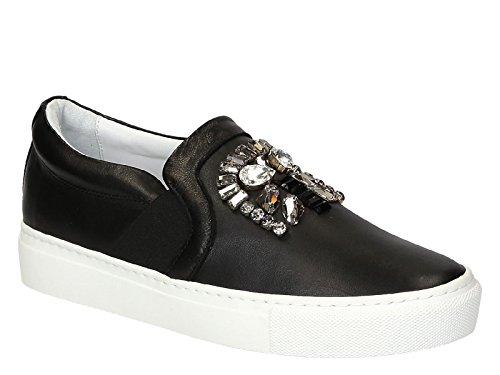 Pantofole Lanvin Donna Pelle Nero FWSKPPO3EXAAA15 Nero 37EU