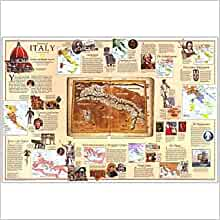 Historical Italy (National Geographic Society supplemental map