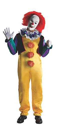 Kmvei Costume Men's It The Movie Adult Pennywise Deluxe