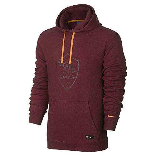 nike-roma-y-nsw-hoodie-po-cre-sweat-shirts-rouge-l-unisex-enfants