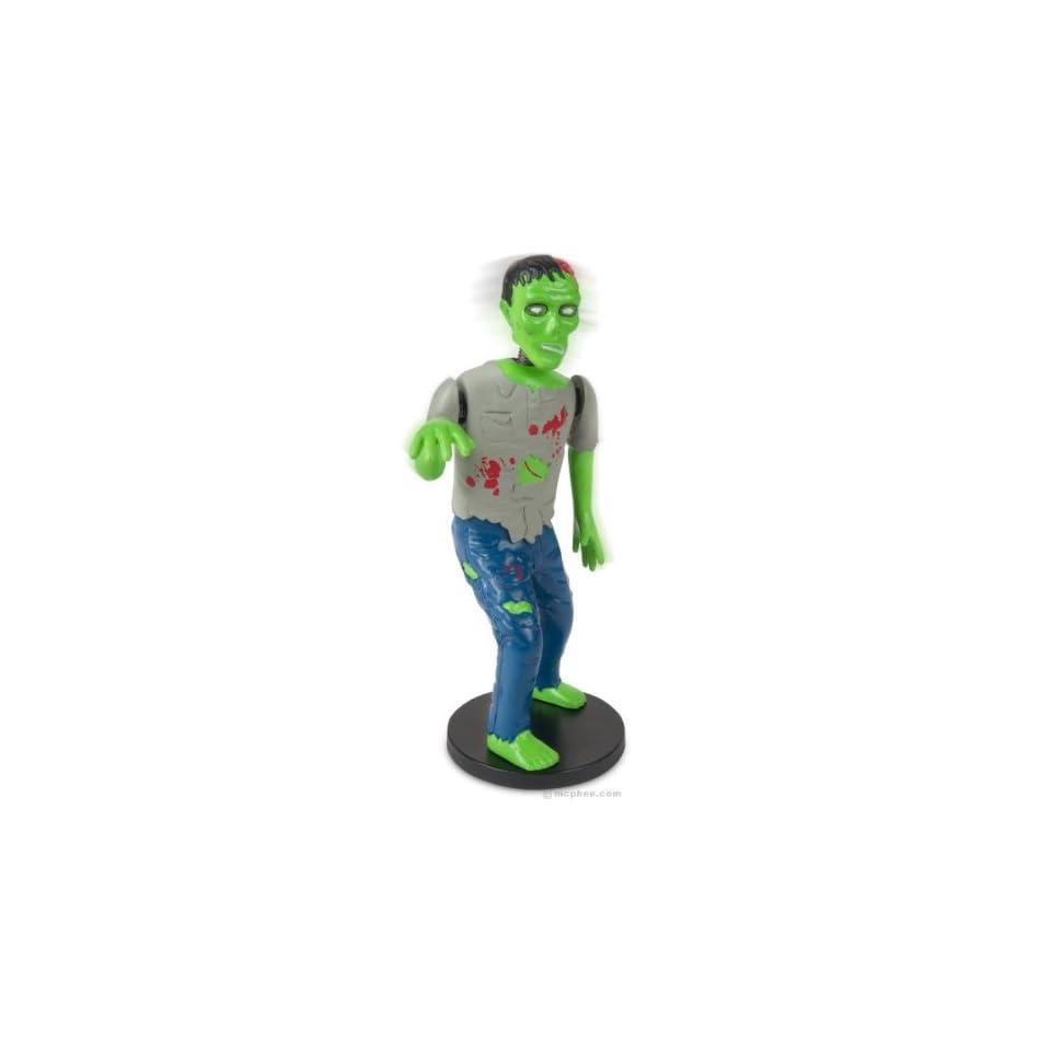 Dashboard Zombie Bobblehead Walking Dead Goth Horror Brain Eating Novelty Gift